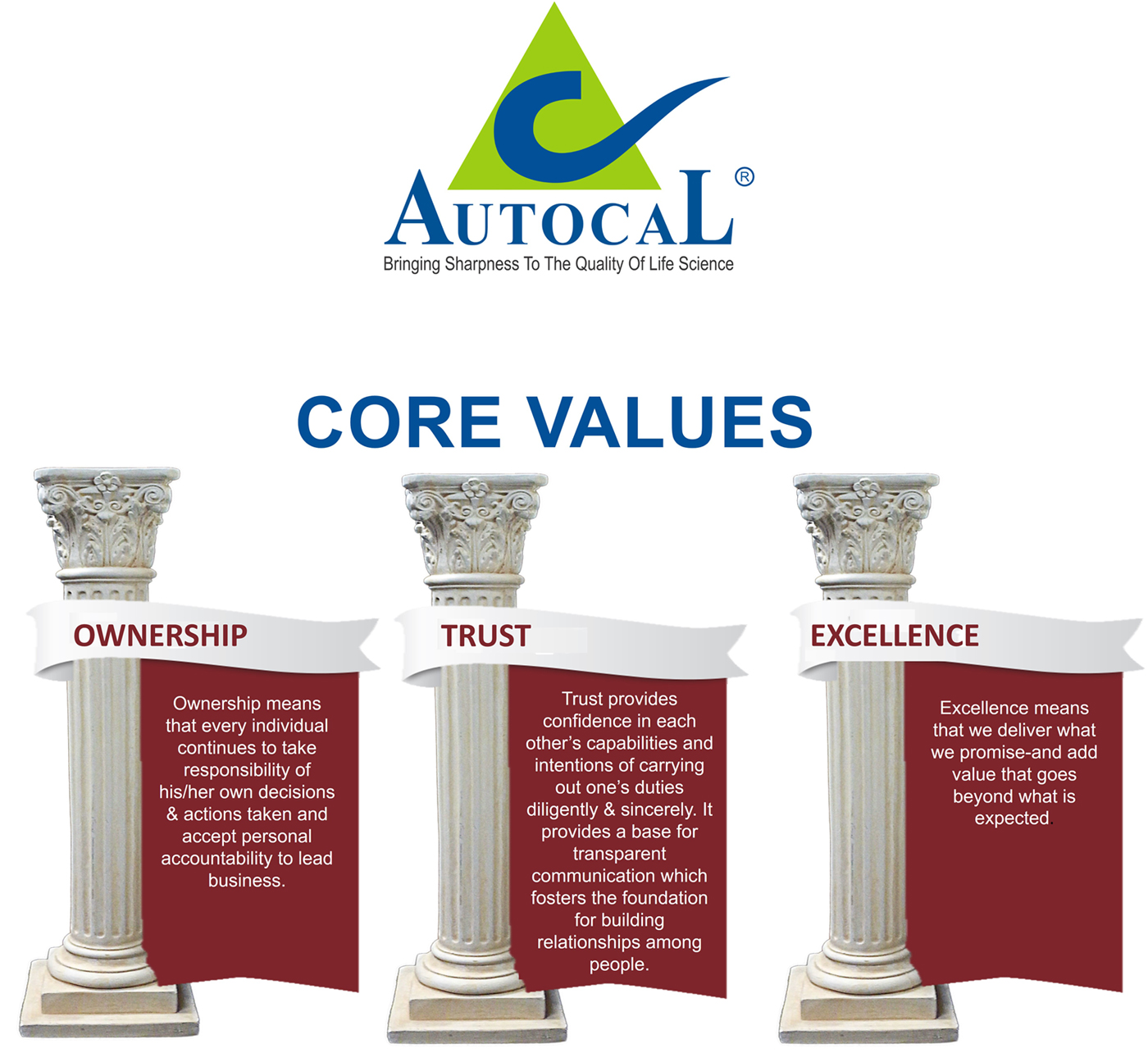 no rules but we are guided by a few core values
